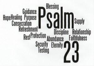Psalm 23 logo