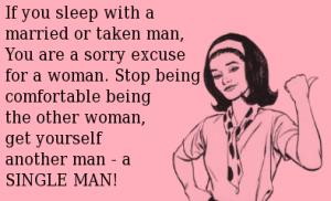 leave married men alone