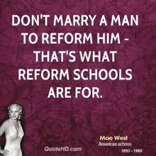 reform a man