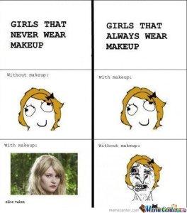 Girls-that-never-wear-makeup-girls-that-always-wear-makeup_o_137604