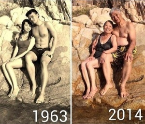 old and young love