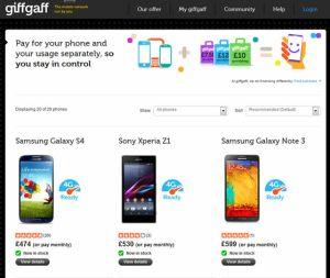 Giffgaff_phones