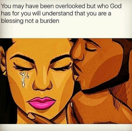 blessing burden