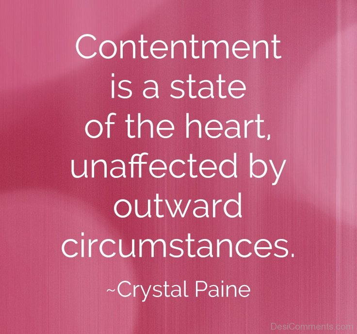 Contentment-Is-A-State-Of-The-Heart