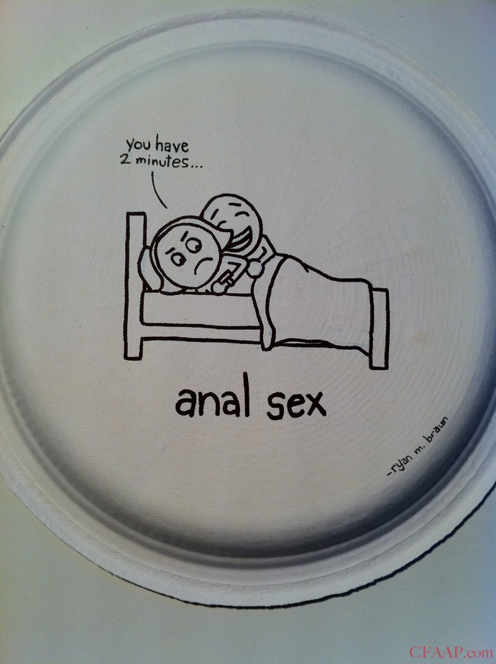 Center For American Athletic Progress: Funny Plates: Anal Sex